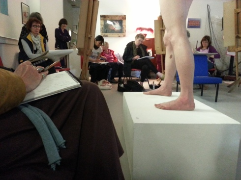 Suki - Life Drawing and Poetry Reading