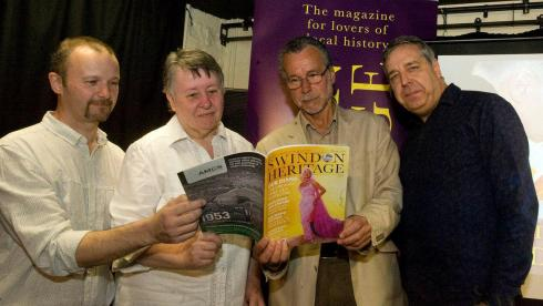 The Swindon Heritage Magazine Team and Matt Holland