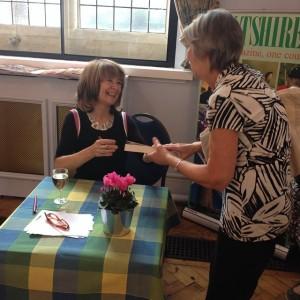 Sarah Dunant at Marlborough Literature Festival 2014