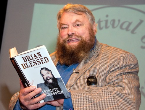 brian blessed_3226Swindon Festival of literatureBrian Blessed