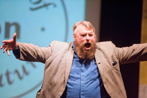 brian blessed_3394Swindon Festival of literatureBrian Blessed