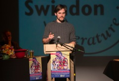 Swindon Festival of Literature - Think Slam Pictured John Sheehy 13/05/16 Pictures Clare Green/www.claregreenphotography.com