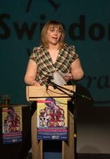 Swindon Festival of Literature - Think Slam Pictured Louisa Daveson 13/05/16 Pictures Clare Green/www.claregreenphotography.com