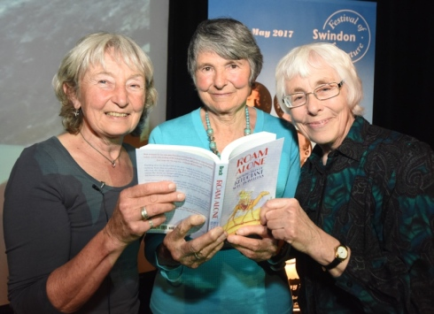 Hazel Pennington, Hilary Bradt and Janice