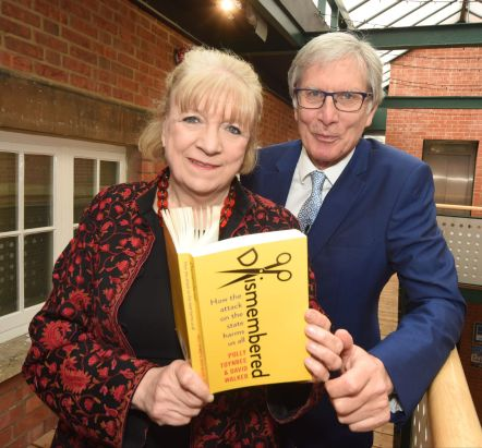 Polly Toynbee and David Walker © Calyx Picture Agency