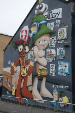 Cheo created this Morph mural to celebrate 40 years of the children's TV favourite
