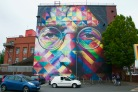Kobras kaleidoscopic John Lennon - now without scaffolding