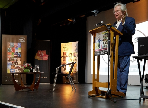 A. C. Grayling at Swindon festival of Literature
