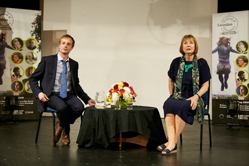 Dan O'Brien and Harriet Harman