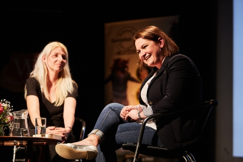 Gill Sims in conversation with Emma Smith of Mum's the Word