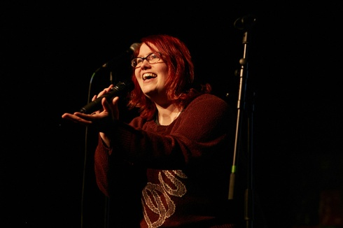 Swindon Slam winner Joy-Amy Wigman