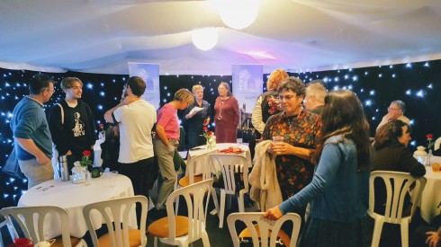 In the Tent Palace of the Delicious Air, Swindon Festival of Poetry
